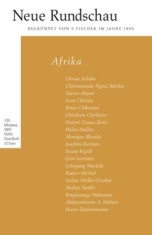 Afrika (Neue Rundschau 2/2009)