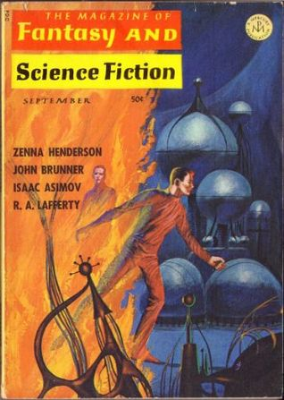 The Magazine of Fantasy and Science Fiction, September 1966 (The Magazine of Fantasy & Science Fiction, #184)