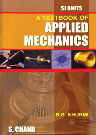 A textbook of applied mechanics by rs khurmi 1211775 fandeluxe Image collections