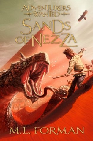 Sands of Nezza (Adventurers Wanted, #4)