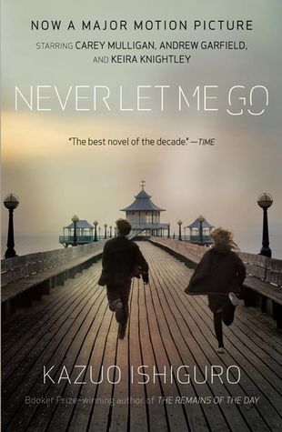 Image result for Never Let Me Go by Kazuo Ishiguro book cover