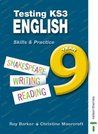Testing KS3 English: Year 9