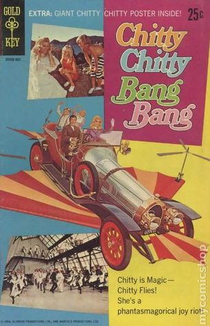 Chitty Chitty Bang Bang (1969 Movie Comics)