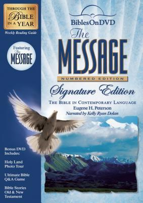 The Message: Numbered Edition Signature Edition: Bible on DVD in Contemporary Language