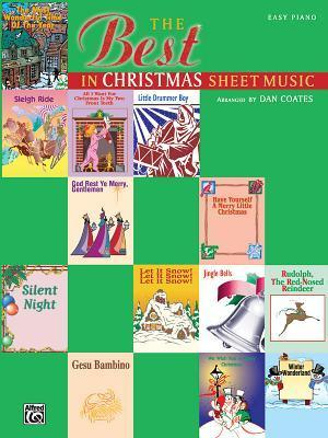 The Best in Christmas Sheet Music Best in Christmas Sheet Music