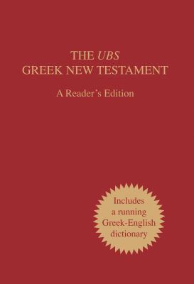 The UBS Greek New Testament, Readers Edition (ePUB)