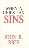 When a Christian Sins