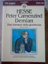 Peter Camenzind / Demian cover
