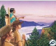 Sacagawea, Lewis, and Clark