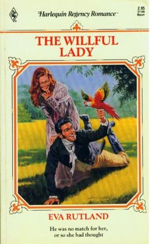 The Willful Lady by Eva Rutland