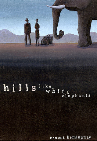 """hills like white elephants"" Hemmingway's story, hills like white elephants, has many symbolizing parts practically everything in the story symbolizes a different item the story is about a girl by the name of jig, and an american man, whose name is not stated."