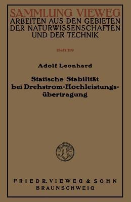 Statische Stabilitat Bei Drehstrom-Hochleistungsubertragung