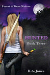 Hunted by K.A.  Jones