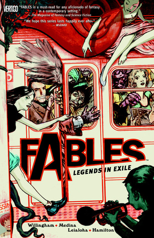 Image result for Fables Vol 1 cover