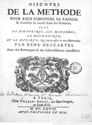 Rasprava o metodi / Principi filozofije I. dio