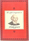 The QPB Companion to Shakespeare