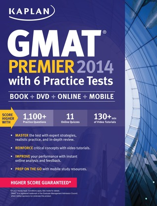 GMAT 2014 Premier with 5 Online Tests