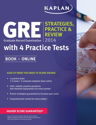 GRE 2014: Strategies, Practice, and Review