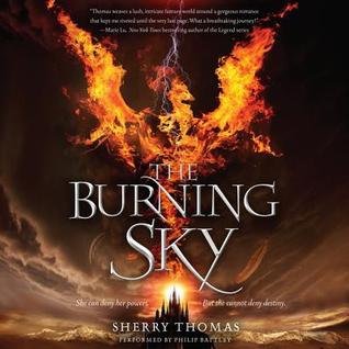 The Burning Sky(The Elemental Trilogy 1)