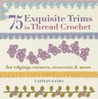 75 Exquisite Trims in Thread Crochet: For Edgings, Corners, Crescents & More
