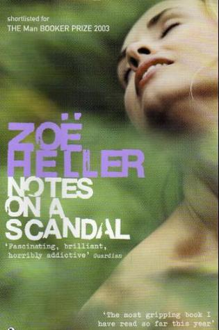 Image result for notes on a scandal book cover