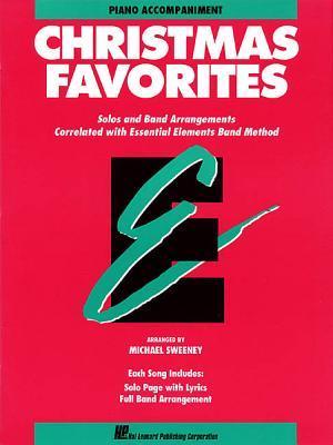 Essential Elements Christmas Favorites: Piano Accompaniment