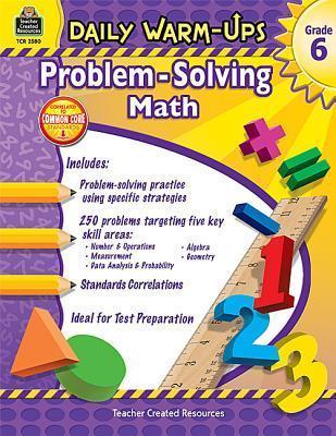 Daily Warm-Ups: Problem Solving Math Grade 6