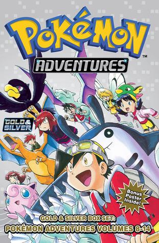 Pokemon Adventures Gold & Silver Box Set