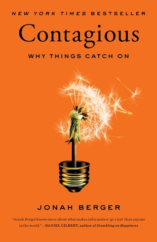 contagious-why things catch on-jonah berger-the book nook-www.ifiweremarketing.com