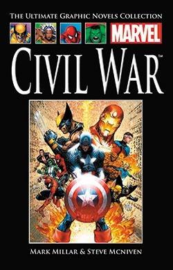 Civil War (Ultimate Marvel Graphic Novels Collection #50)