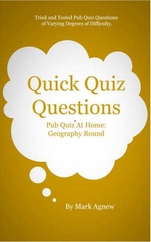 Quick Quiz Questions Pub Quiz At Home: Geography Round by