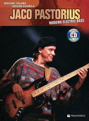 Jaco Pastorius -- Modern Electric Bass: Spanish & Italian Language Edition, Book & CD