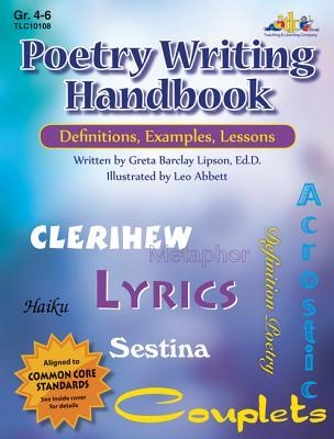 Poetry Writing Handbook: Definitions, Examples, Lessons