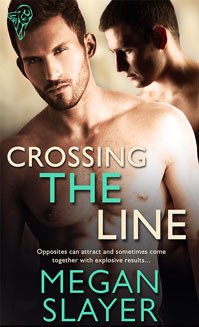 Book Review: Crossing the Line (Out of Bounds #1) by Megan Slayer