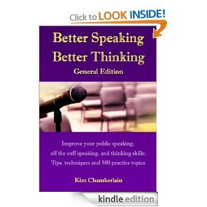 Better Speaking Better Thinking: General Edition
