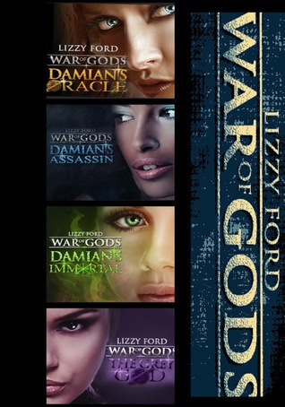 War of Gods Box Set (War of Gods, #1-4)