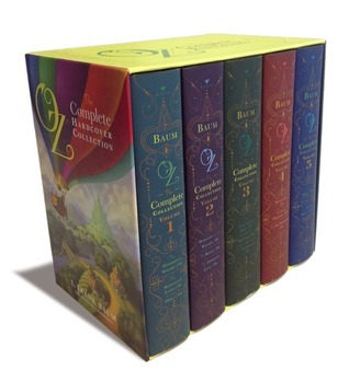 Oz, the Complete Hardcover Collection: The Wonderful Wizard of Oz; The Road to Oz; The Scarecrow of Oz; The Lost Princess of Oz; The Magic of Oz