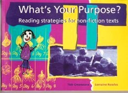 What's Your Purpose? Reading Strategies for Non-Fiction Texts