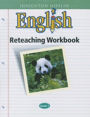 Houghton Mifflin English: Reteaching Workbook Grade 1
