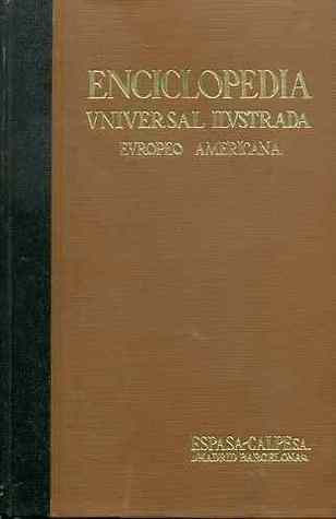 Enciclopedia Universal Ilustrada Europeo Americana - Index (Suplementos 1934-1980)