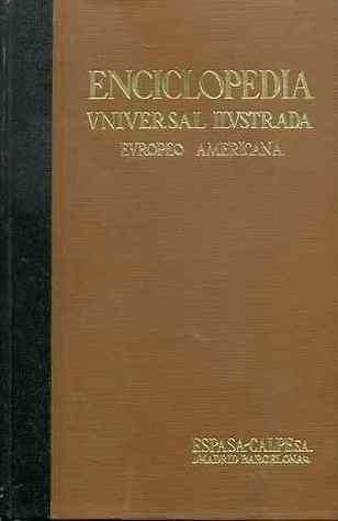 Enciclopedia Universal Ilustrada Europeo Americana, Tomo X