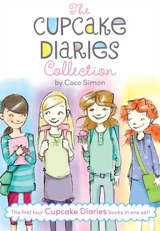 The Cupcake Diaries Collection: Katie and the Cupcake Cure; Mia in the Mix; Emma on Thin Icing; Alexis and the Perfect Recipe (Cupcake Diaries #1-4)