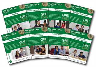 Manhattan Prep GRE Set of 8 Strategy Guides, 3rd Edition by Manhattan Prep