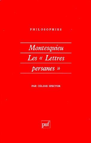 Montesquieu : Les Lettres Persanes