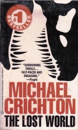 a review of the book the lost world by michael crichton One fact about this sequel to jurassic park stands out above all: it follows a book that, with spinoffs, including the movie, proved to be the most profitable literary venture ever.