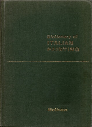 A Dictionary of Italian Painting