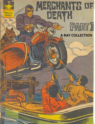 Phantom-Merchants Of Death I & II ( Indrajal Comics 262 & 263 )