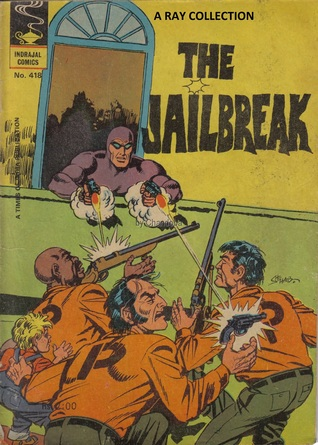 Phantom-The Jailbreak ( Indrajal Comics No. 418 )