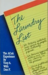 The Laundry List ACOA Adult Children Of Alcoholics Experience