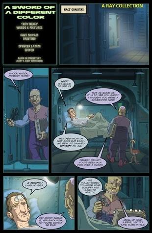 The Matrix Comics -  A Sword of a Different Color
